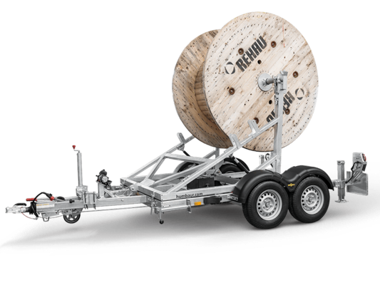 Trailer Cable reel trailer in detail